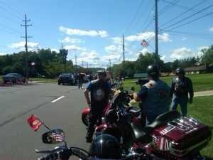 1st Patriot Guard Mission