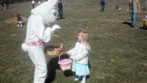 The one, the only....Easter Bunny!