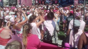 Chelle in the middle of the pic at closing ceremonies