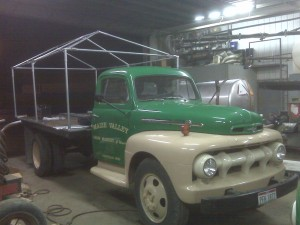 My 1952 Ford F5 work truck