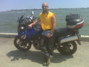 Me and my V Strom