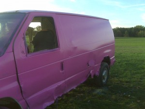 Pink Van 4 Susan G. Komen 3 Day for the cure