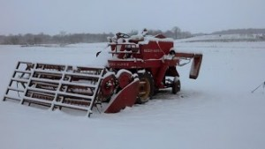 Massy Combine in snow