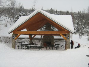 "Holiday Valley outdoor ""Chalet"""
