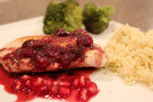 Cranberry Pomegranet Chicken