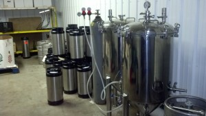 "Our ""Itty'Bitty"" bright or carbonation tanks"